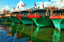 #海南琼海潭门千年渔港#那么美的渔港为什么你不进来看一看?  🌸潭门镇,距离琼海嘉积镇20km。人口