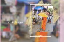 虔诚的柬埔寨人