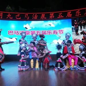 巴马科游记图文-2017巴马活泉乐寿节