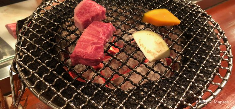Charcoal brazier grilled meat Itozakura3
