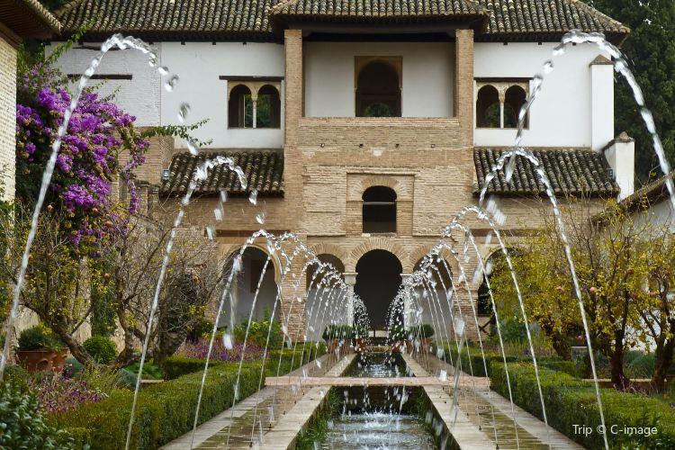 헤네랄리페 정원1
