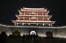 广济楼的夜景