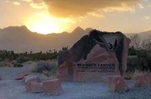 拉斯维加斯红岩峡谷,荒漠中的红色奇观!