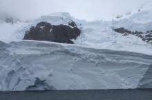 南极冰山一面