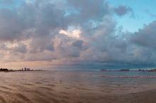 金沙湾日落