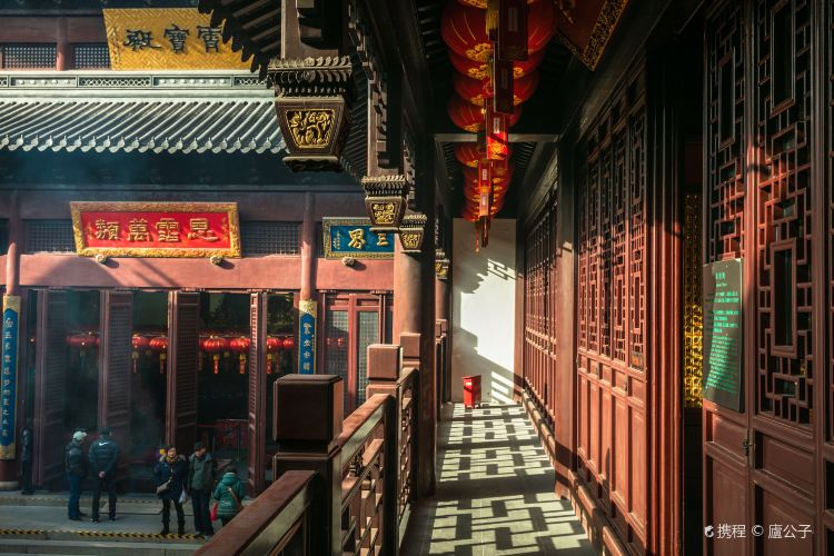 Shanghai Baiyun Taoist Temple2