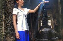 吴哥古迹 雨中的圣剑寺