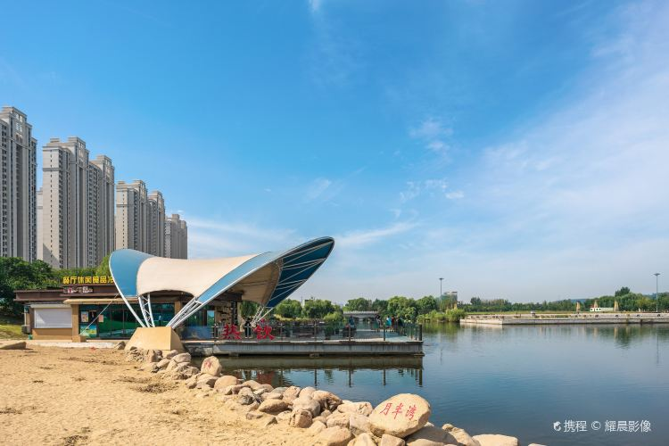Fushun City Crescent Island Ecological Park1