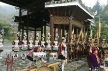 肇兴侗寨迎宾歌舞表演