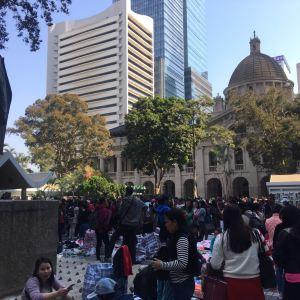 皇后像广场旅游景点攻略图