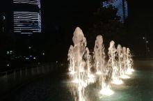 余姚江边的夜景