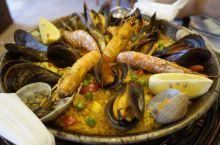 海鲜饭Paella,我的巴塞最期待