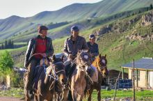 琼库什台哈萨克牧业村