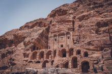 废墟遗址打卡地 | 约旦佩特拉古城皇家墓群遗址