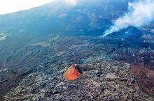 法属留尼汪之海岛火山