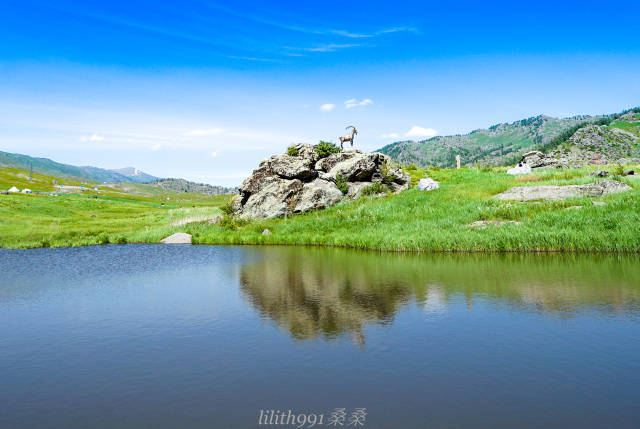 草原石人哈薩克民族文化產業園2