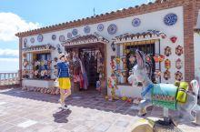 西班牙的毛驴小镇—米哈斯