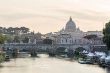梵蒂冈大教堂黄昏延时