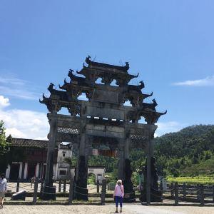 胡文光牌坊旅游景点攻略图