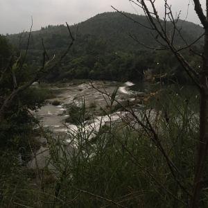 陡坡塘瀑布旅游景点攻略图