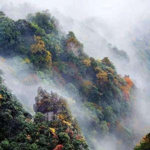 西部大峡谷温泉旅游景点攻略图