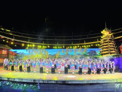 Zuomei, Dong Nationality Love Story Performance
