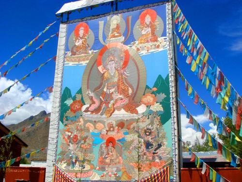 西藏旅游:瞻仰日喀则扎什伦布寺(图) – 日喀则游记攻略插图4