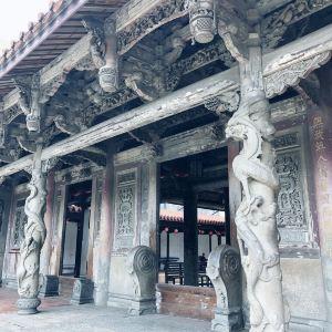 鹿港龙山寺旅游景点攻略图