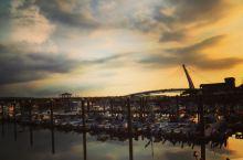 日落 淡水漁人碼頭