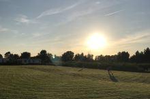 羊角村的日落