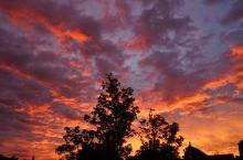 🇳🇱晨光熹微天如水-阿姆斯特丹的彩霞
