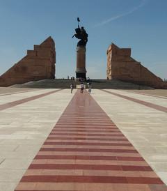 [伊金霍洛旗游记图片] 蒙古民族的英雄,中华民族的伟人,世界历史之巨人——成吉思汗陵旅游景区游览记