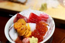 猛吃各种新鲜到爆得海鲜盖饭