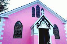 哈勃岛,粉红色的教堂,浪漫又可爱