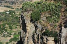 西班牙龙达天然断崖,远眺花儿与少年拍摄地