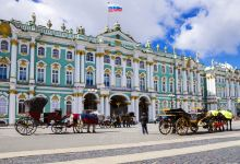 莫斯科+圣彼得堡全景7日游