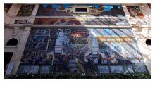 底特律艺术馆里最出名巨型壁画