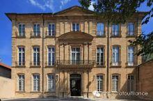 普罗旺斯地区艾克斯(Aix-en-Provence)的私人公馆
