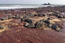 漳州龙海镇海角的古火山海岸