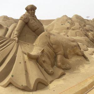 国际沙雕艺术广场旅游景点攻略图