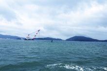 坐船看海和海陵岛