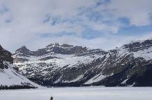 加拿大班夫国家公园5月份风景