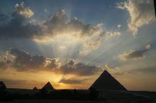 #埃及游#直击金字塔落日