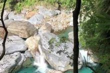 太鲁阁溪流 延时摄影