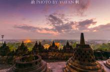 婆罗浮屠的美丽日出,感受与长城吴哥窟齐名的世界奇迹魅力