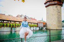 瑞士琉森永远的最美地标 | 花桥水塔