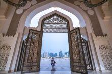 穿越现实多哈国家清真寺