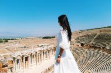 遗址废墟 土耳其—希拉波利斯圆形剧场