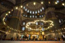 苏丹·艾哈迈德清真寺 也就是蓝色清真寺