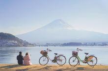 骑自行车环绕富士山河口湖攻略